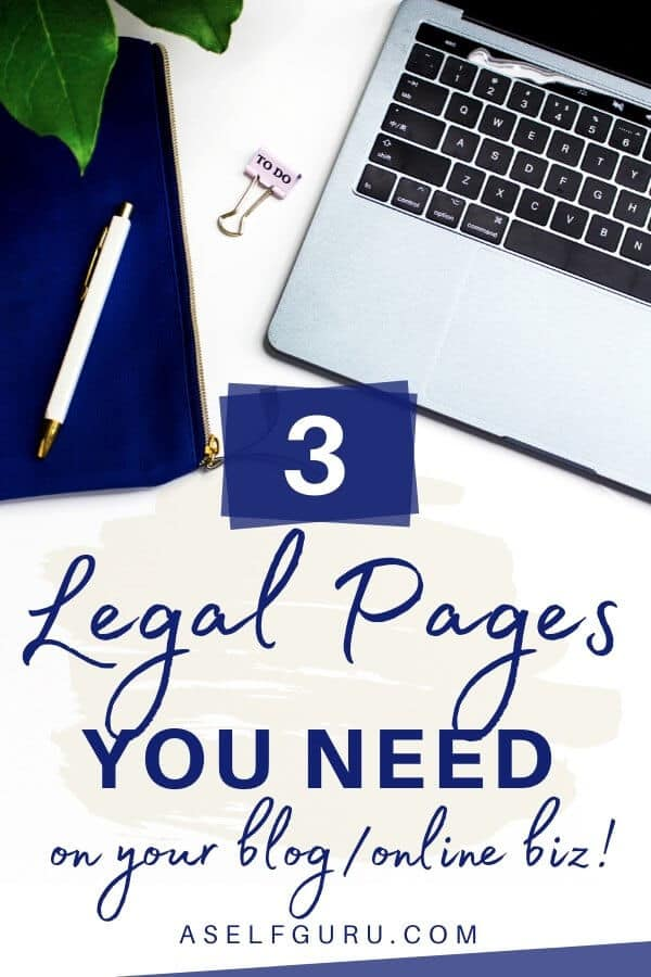 3 ways to legally protect your blog, website and online business