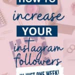 1 Free Instagram Tip to gain followers every week