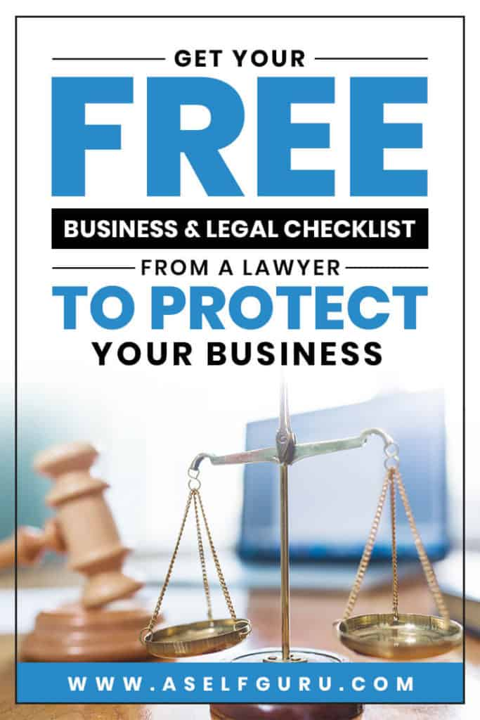 Free Business and legal checklist