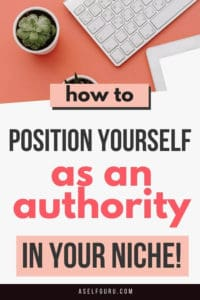 6 Ways to Build Niche Authority as a new entrepreneur / blogger