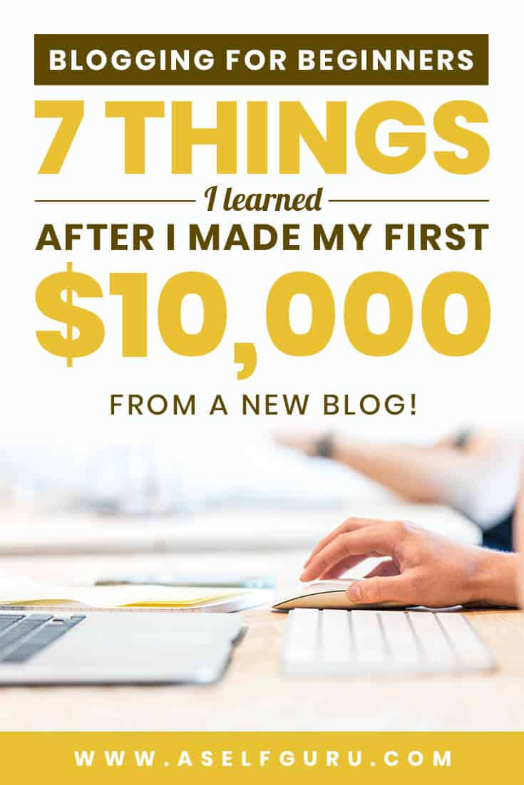 7 blogging lessons and blogging mistakes for beginner bloggers
