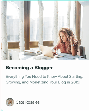 Becoming a Blogger course review
