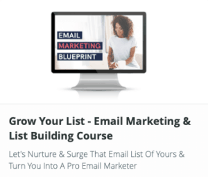 Grow Your List - Email Marketing and List Building Course