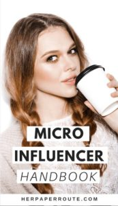 Micro influencer handbook for bloggers by Herpaperroute