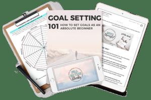 Goal setting 101 course Nadalie bardo