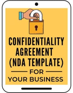 Confidentiality Agreement NDA template for business