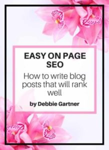 easy on page SEO to rank on google