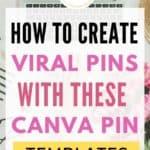 Pinterest Canva Templates