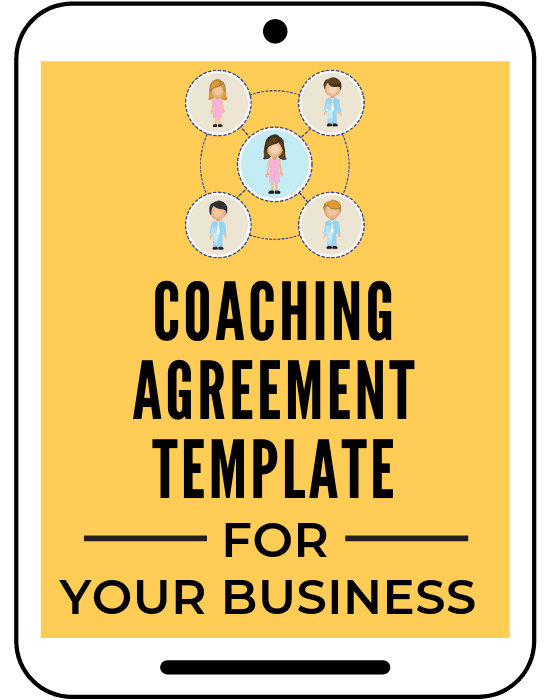 Coaching Agreement template to work with clients