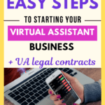 How to start a virtual assistant business in 10 easy steps