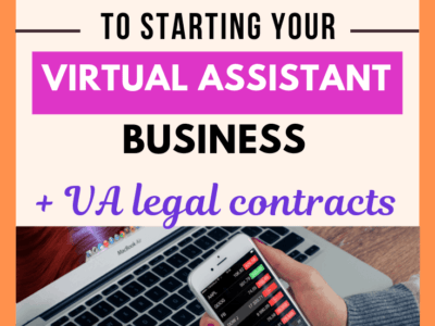 How to start a virtual assistant business and make money from home in 10 easy steps