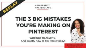Pinterest masterclass with Nadalie and Amira