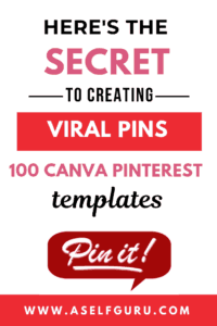 Pinterest templates to create viral pins canva templates