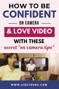 Confidence on camera how to create videos for business
