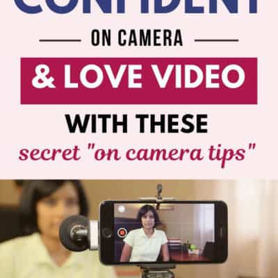 How to Gain Confidence on Camera + Bonus Video: Interview with Narrisa and Paolo from No Fuss Video