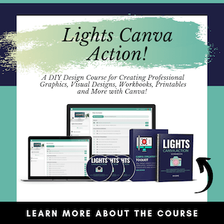 Lights Canva Action course