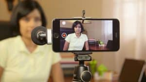 Confidence on camera, Narrisa on Smartphone-