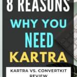 Kartra review, convertkit v. Kartra