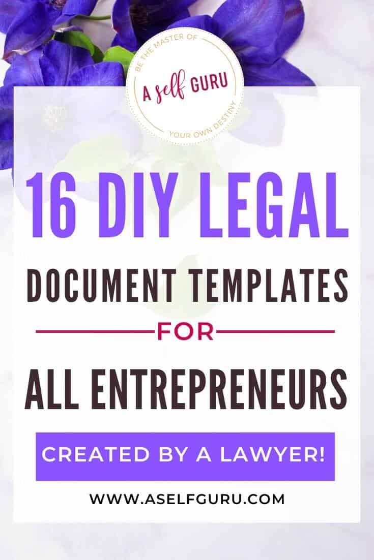 16 high demand DIY legal documents templates for your business