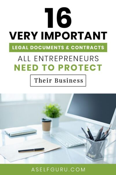 16 legal templates and documents every entrepreneur needs to protect their business
