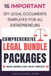 legal documents templates aselfguru