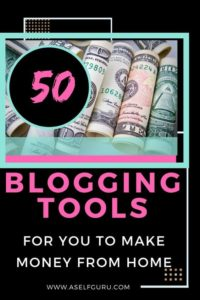 50 Blogging tools and resources to make money