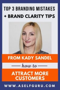 how to attract customers and readers: branding tips from Kady Sandel