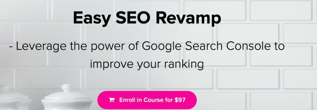Easy SEO Revamp Course SEO Tips