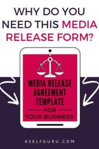 Media release form