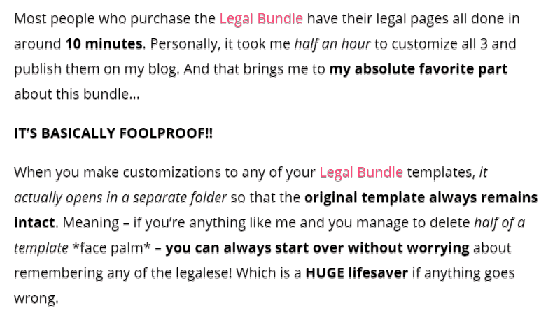 Owl About DIY ASelfGuru Amira's legal templates review