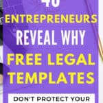 Why Free Legal Templates Don't Protect Your Blog or Business