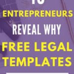 Why Free Legal Templates Suck and Don't Protect Your Blog or Business