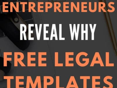 free legal templates don't protect your blog