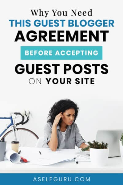 guest blogger agreement