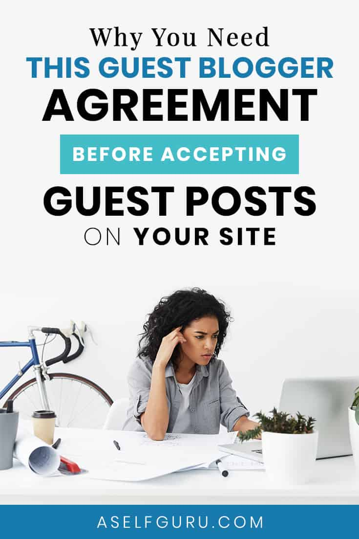 guest blogger agreement