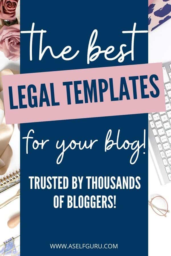 The Best Legal Templates for Your Blog