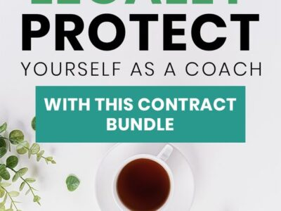 Coaching contract (legal bundle for coaches)