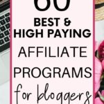 60 Best Affiliate Programs For Bloggers to Earn Up to $200 Per Sale