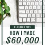 Blog Income Report: How I Made $60,000 From My Blog Last Month