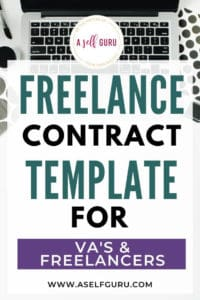 Freelance Contract Template for Freelances and VA's