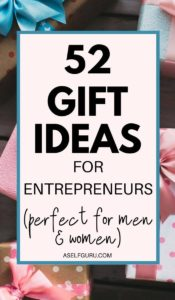 52 Perfect Gift Ideas for Entrepreneurs