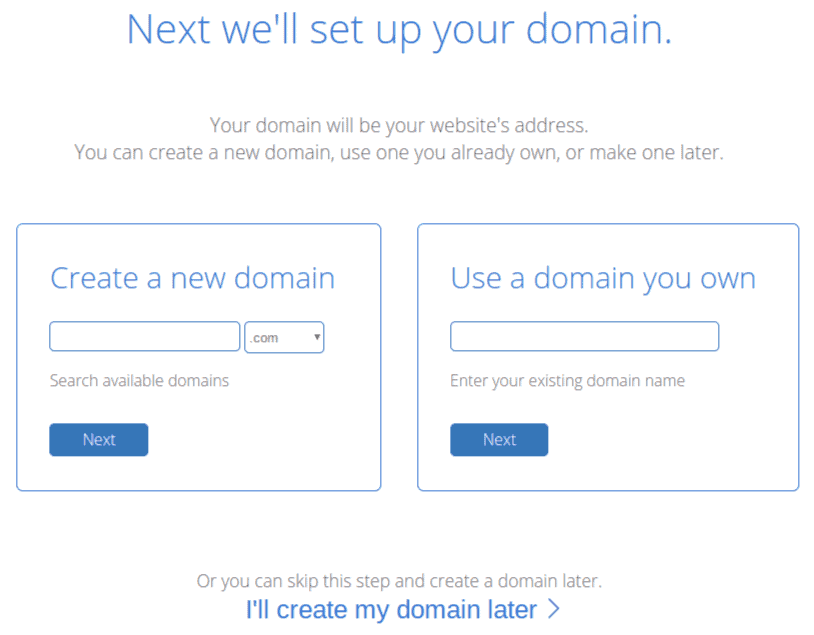 Setting up your domain