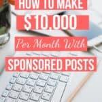 Sponsored Blog Posts - 2