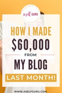 blog income report- How I made $60,000 a month blogging