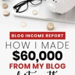 How to Make Money Online (blog income report)