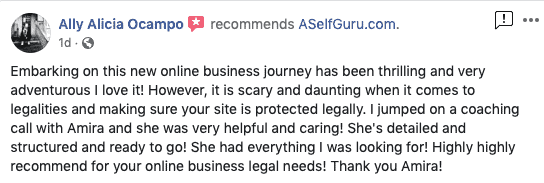 Alicia legal bundle review amira law