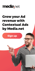 Media Net ad network - affiliate program for new bloggers