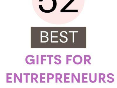 52 Best Gifts for Entrepreneurs
