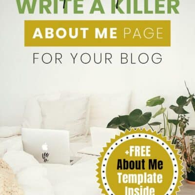 How to Write the Perfect About Me Page (Examples and Free Template Inside)