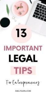 legal tips for entrepreneurs